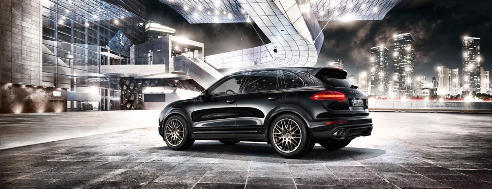 Unser exklusives Leasingangebot: Die Porsche Cayenne Diesel Platinum Edition.
