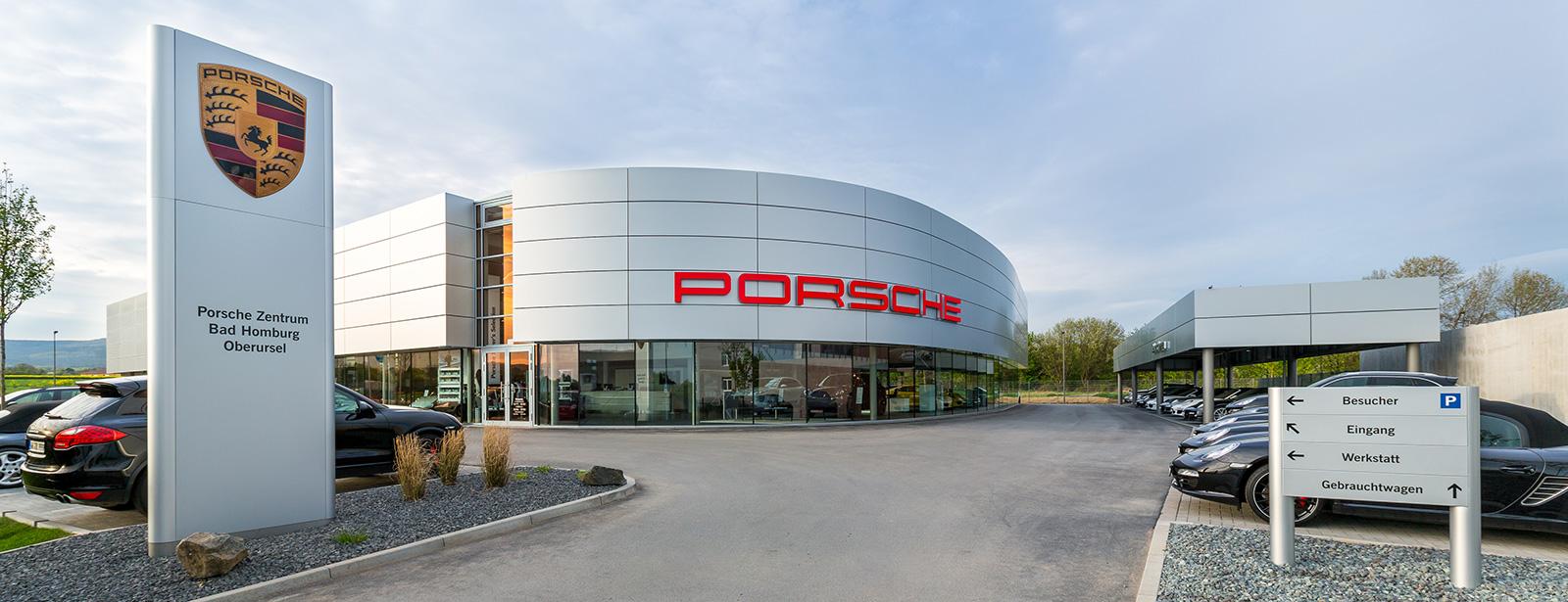 Das neue Porsche Zentrum Bad Homburg/Oberursel.
