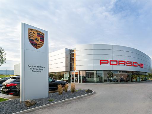 Das neue Porsche Zentrum Bad Homburg